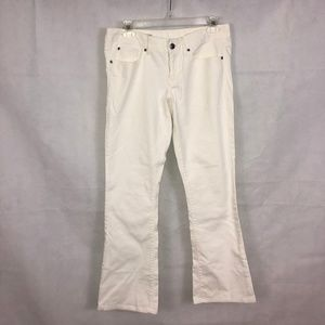GAP Pants - GAP Women's White Curvy Flared Jeans Sz 27/4r